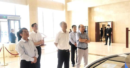 山东省能源局党组书记、局长栾健调研宝之谷综合智慧能源示范项目