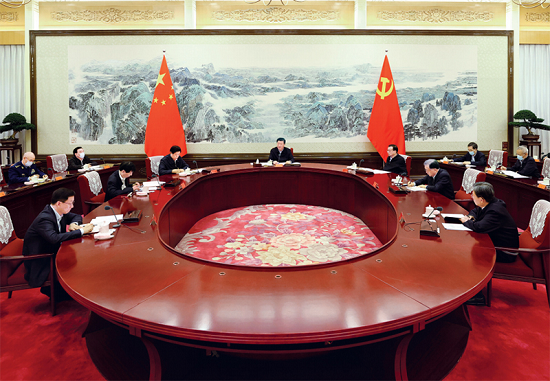 习大大:总结党的历史经验 加强党的政治建设
